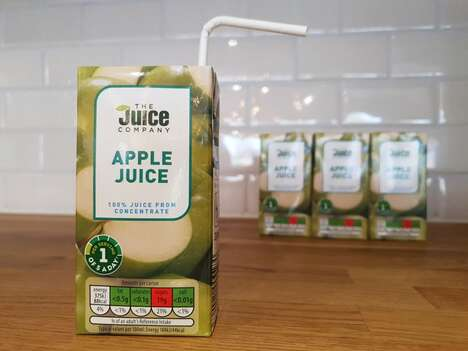 Plastic Straw-Free Juice Packaging