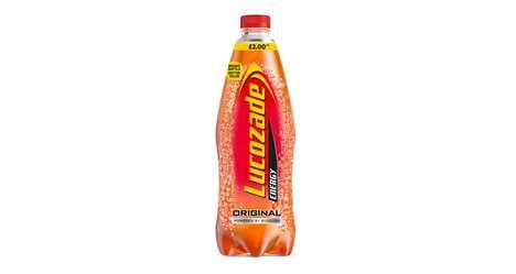 Enlarged Energy Drink Servings