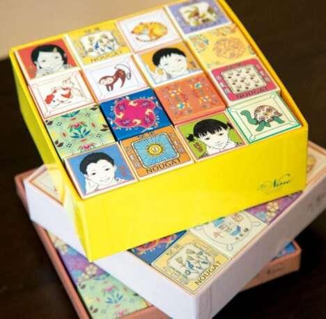 Artful Nougat Gift Boxes