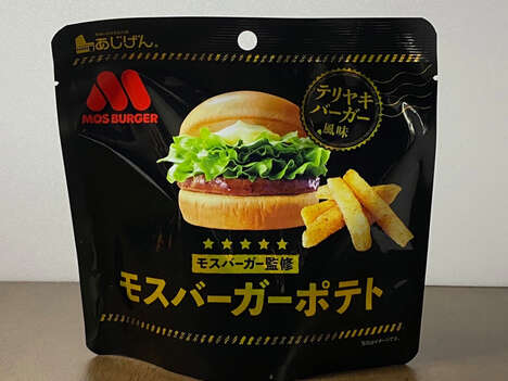 Teriyaki Burger-Flavored Snacks