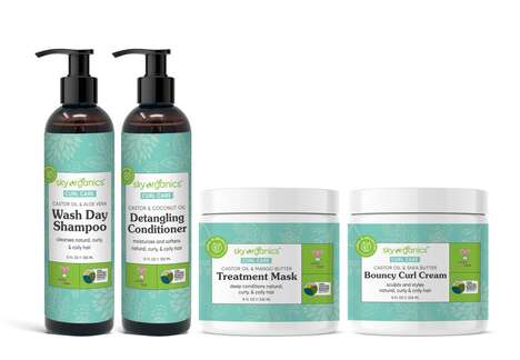 Bio-Based Curl Care Systems