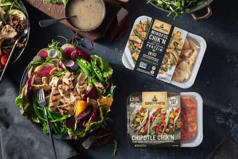 Globally Inspired Meatless Strips