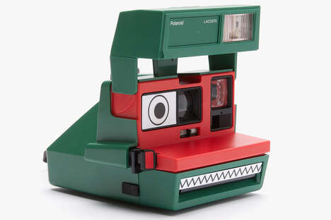 Crocodile-Themed Instant Cameras