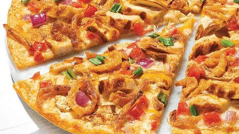 Taco Seasoning-Topped Pizzas