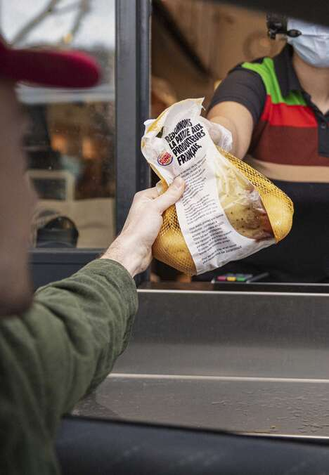 Fast Food Potato Bags