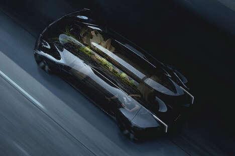 Garden-Equipped Concept Cars