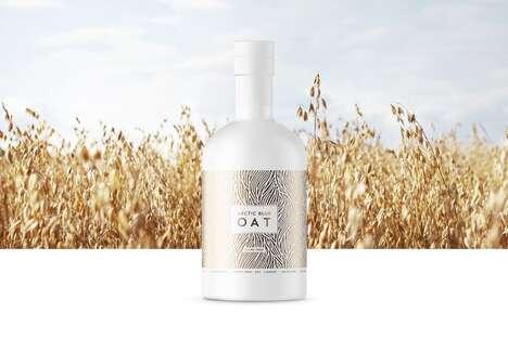 Gin-Based Oat Liqueurs