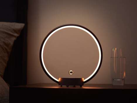 Interactive Illusory Circle Lights