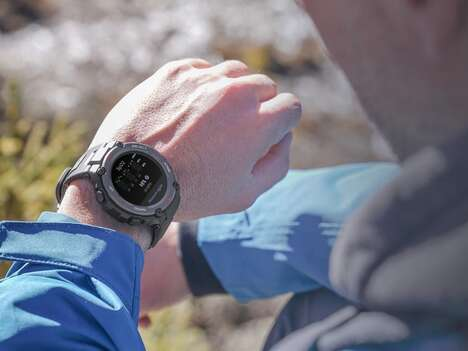 Adventurous Sport-Ready Smartwatches