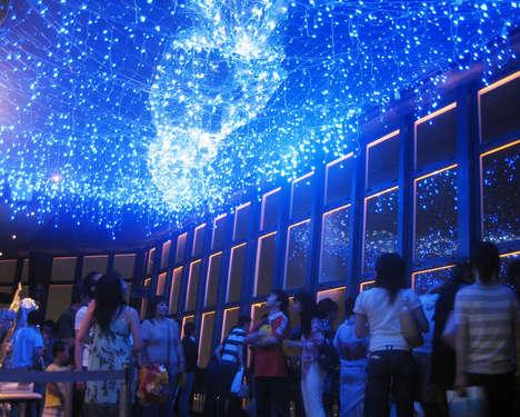 Faux Galaxy Ceilings
