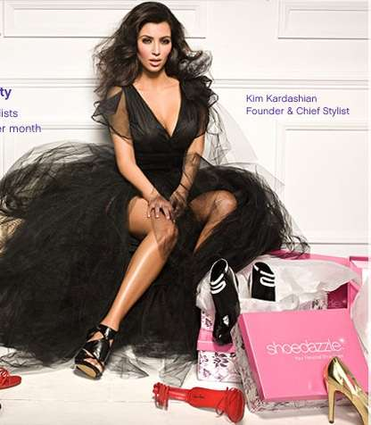 Celebs as Personal Stylists - Kim Kardashian Helps You Find Footwear at ShoeDazzle