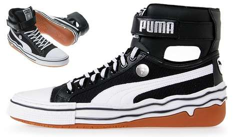 Heavenly High Tops - Puma and Mihara Yasiroto Collaborate for Cloud-Like MY-40