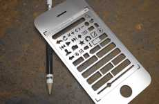 Traceable Technologies - The Apple iPhone Stencil Kit Makes Interface Copy Easy