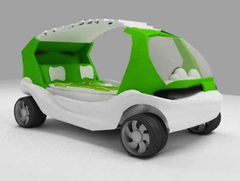 Futuristic Ambulances