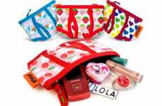 "Panty Purses - Girly Undergarment ""Pants Purses"" to Hold Your Toiletries"
