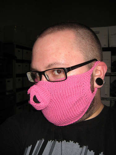 Human Pig Masks