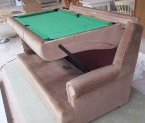 Built-In Billiard Couches