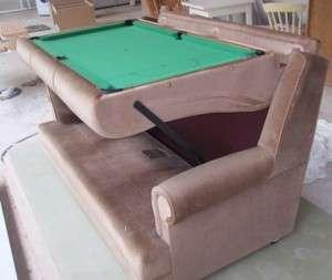 Billiard Couches The Snooker Sofa