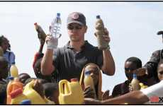 World Changing Celebs - Matt Damon Asks Supporters to Sign Petition for Clean Water