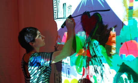 Pop-Up Art Bars - London's DoodleBar Lets You Draw on Everything, From Floor to Ceiling
