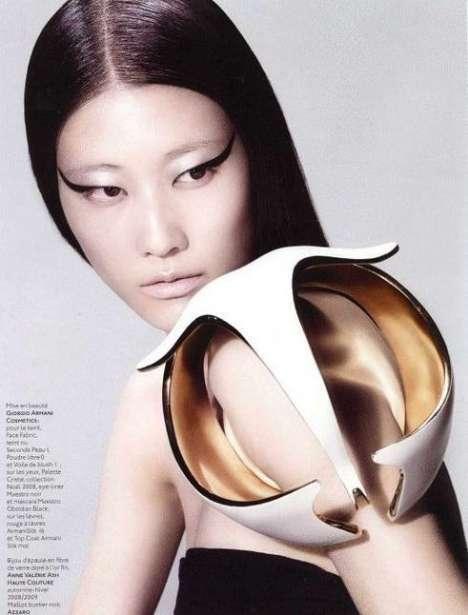 25 Sculptural Fashions