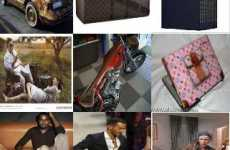 43 Louis Vuitton Innovations - From Bootylicious Fashion Ads to Luxury Vespas, LV Rocks