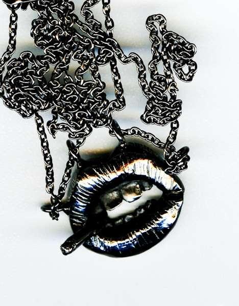 Metal Mouth Pendants