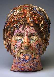 Old Wood is Used for Michael Ferris Jr's Detailed Portrait Sculptures