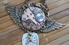 Steampunk Pendants - Simply Willow has a Vintage-Style Collection of Antique Necklaces