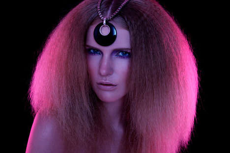 Pink Puffball Hair