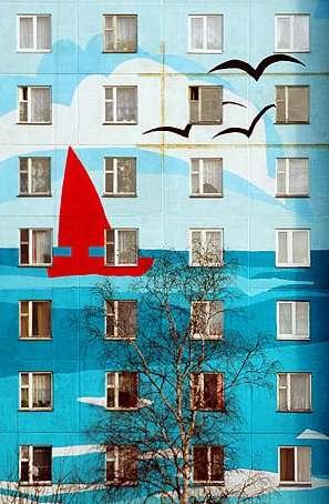 Colorful Architectural Facades