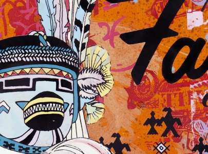 FAILE Releases Collection of Comic Book Creations