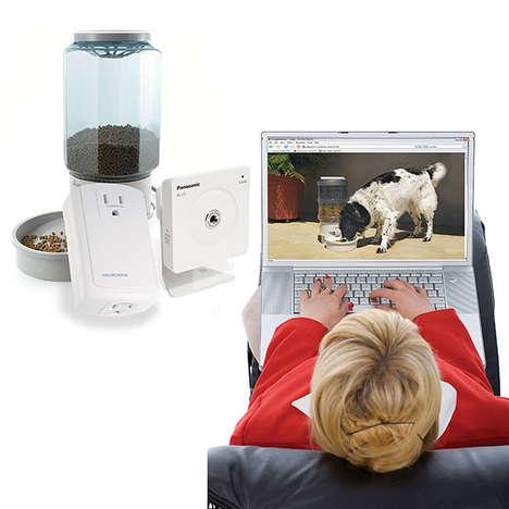 Remote Pet Feeders