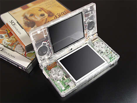 DIY Clear Consoles