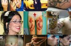 39 Freaky Tattoo Alternatives - Extreme Body Modifications, from Pierced Eyes to Self-Inflation
