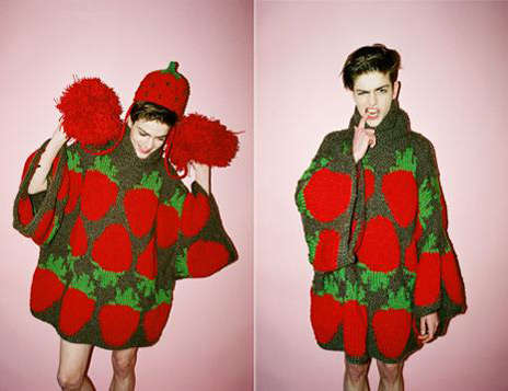 Yung Du Creates Fun Fruit-Printed Fashions