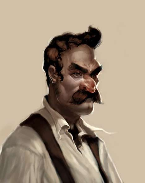 Untooning Video Game Characters - Anthony Jones Designs Real-Life Mario, Luigi, Bowser & Princess