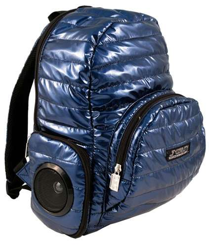 Boom Box Backpacks: The Jam Session Stay Puff Comes With