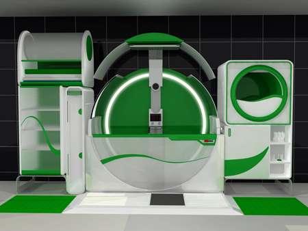 Futuristic Washrooms