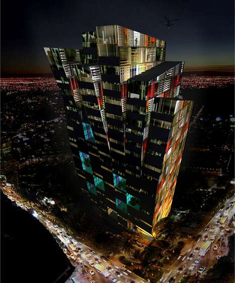 Jenga Block Skyscrapers