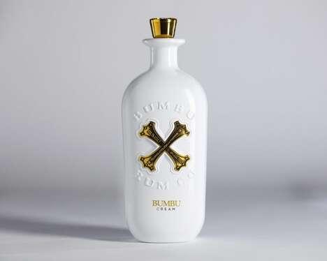 Creamy Aromatic Rum Liqueurs