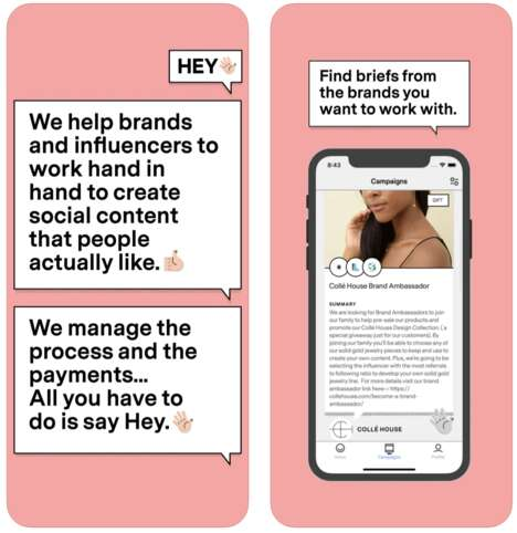 Influencer-Brand Collaboration Apps