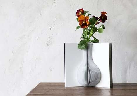 Literary Inspiration Flower Vases