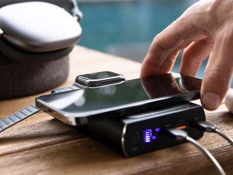 Tiny Power-Packed Portable Batteries