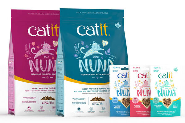 Insect-Based Cat Foods