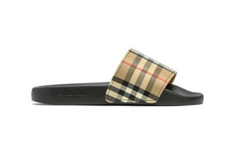 Plaid Luxury Summer Sandals