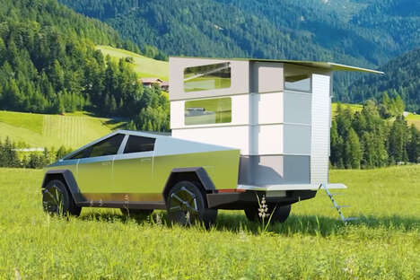 Electric SUV Camping Trailers