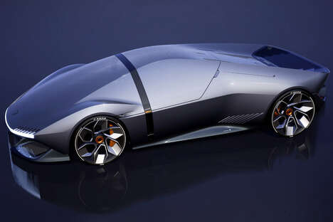 Futuristic Electric Sports Cars