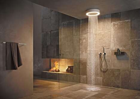 Mood Lighting Shower Heads