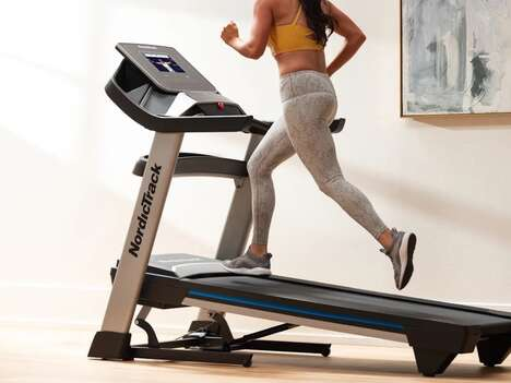 Interactive Training Treadmills